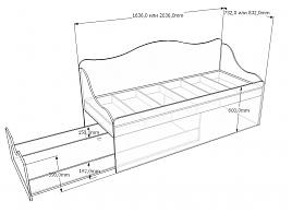 Кровать с выдвижным спальным местом своими руками чертежи 86