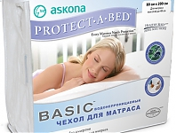 Askona (Аскона) Чехол PROTECT-A-BED Basic (80х160 см.)